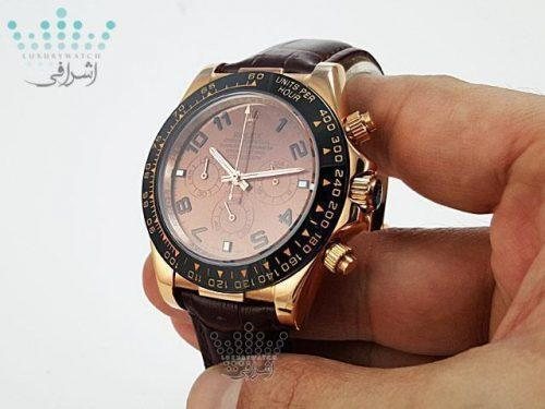 ساعت رولکس دیتونا صفحه قهوه ایROLEX Daytona D17