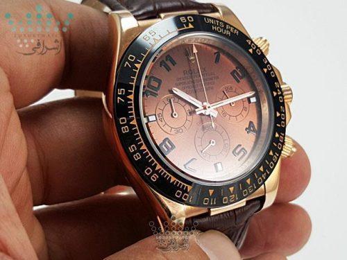 ساعت رولکس دیتونا صفحه شکلاتیROLEX Daytona D17