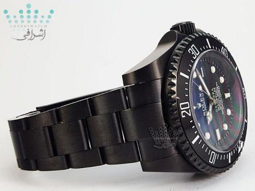 ساعت تمام مشکی ROLEX Deepsea BB1