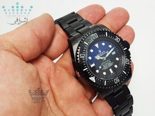 تصویر روی دست ساعت ROLEX Deepsea BB1