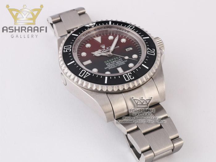 ساعت صفحه قرمز رولکس دیپسی ROLEX Deepsea SR2