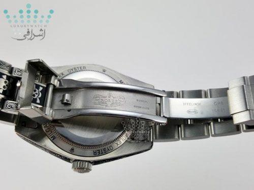 نمای داخلی قفل ساعت ROLEX Milgauss LK10