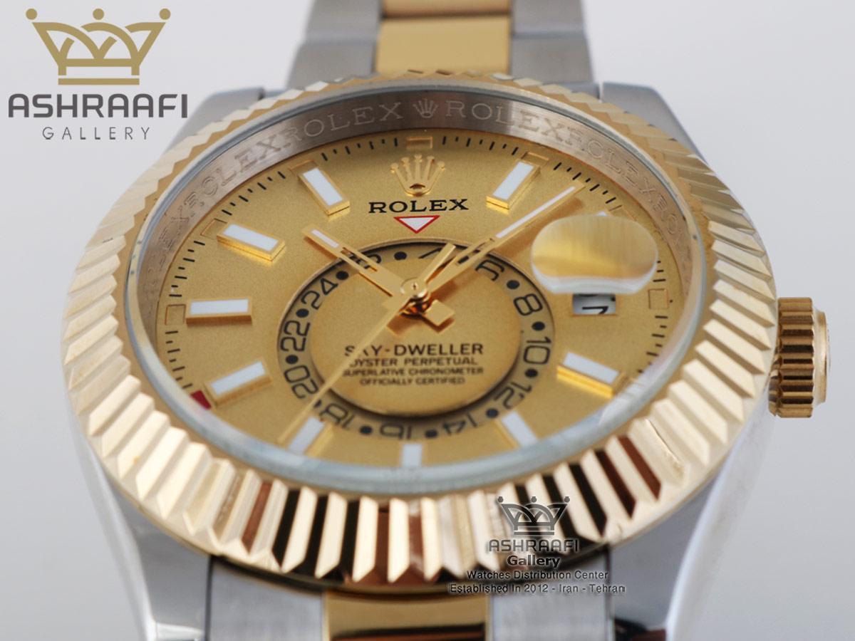 فروش ساعت های کپی رولکس اسکای ROLEX Sky Dweller SGG1