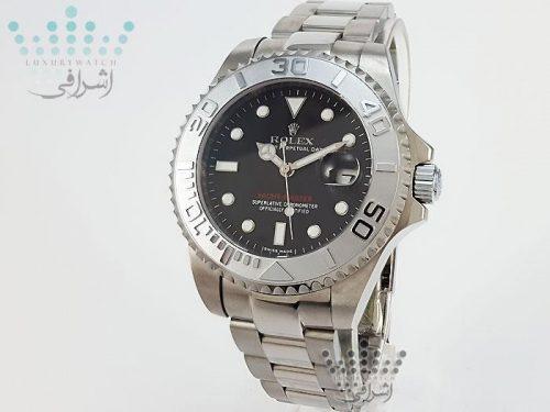 ساعت رولکس یاچ مستر صفحه مشکی Yacht Master-HC2