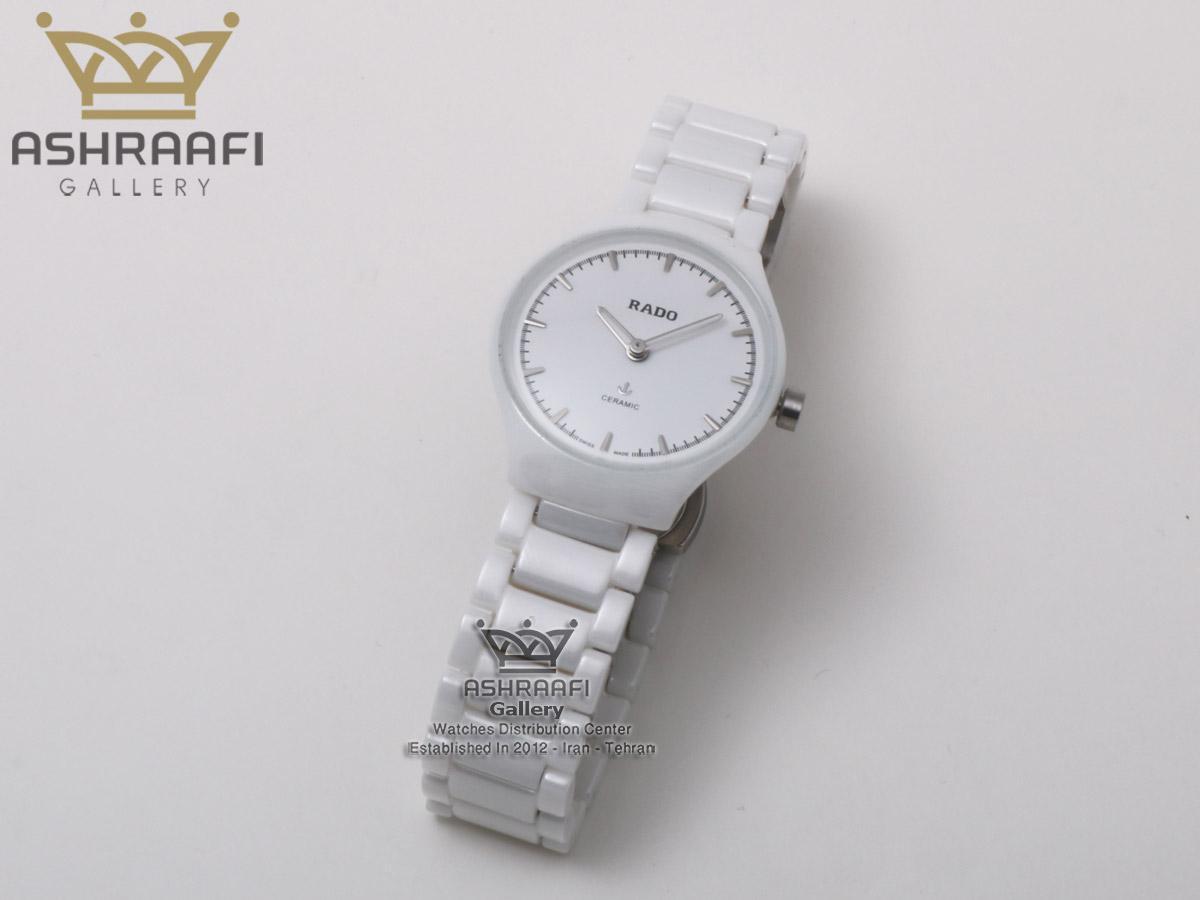 فروش ساعت سرامیکی زنانه سفید رادو Rado 6825L