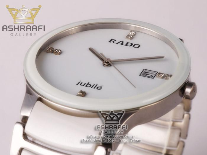 ساعت مردانه سفید رادوRado Jubbile 148W