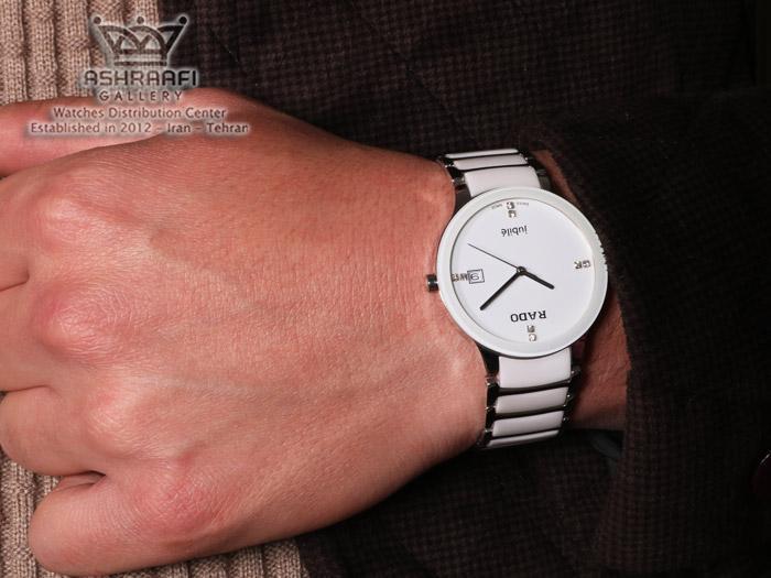 ساعت سرامیکی رادو روی دست Rado Jubbile 148W