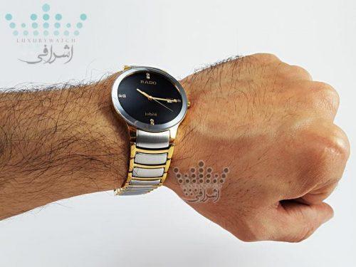 عکس روی دست ساعت مردانه rado-jubili-diastar1