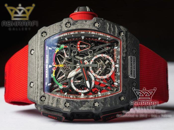 ساعت مچی بند قرمز اسپرت کیفیت عالی
