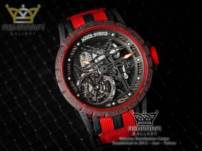 ساعت مچی اسپرت قرمز مدرن