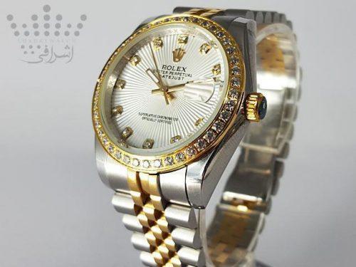 ساعت رولکس دیت جاست نگین دار Rolex-DateJust-16234-09