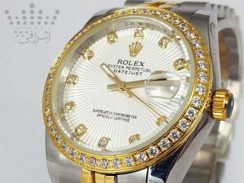 ساعت رولکس دیت جاست نگین دار Rolex-DateJust-16234-11