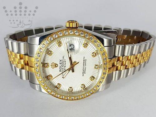 ساعت رولکس دیت جاست نگین دار Rolex-DateJust-16234-12
