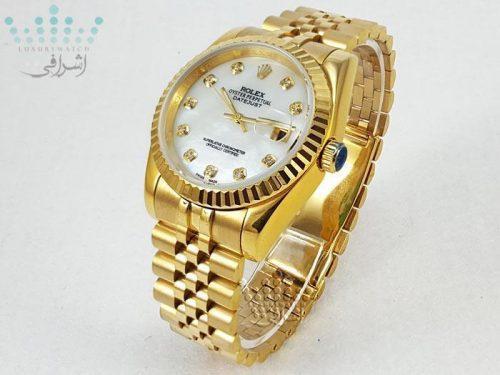 ساعت مچی رولکس دیجاست تمام طلایی - دارای ست زنانه و مردانه Rolex Datejust-G1