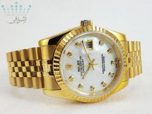 رولکس دیجاست تمام طلایی - دارای ست زنانه و مردانه Rolex Datejust-G1
