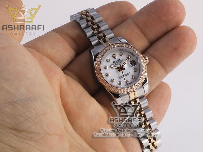 تصویر روی دست ساعت Rolex Datejust N3