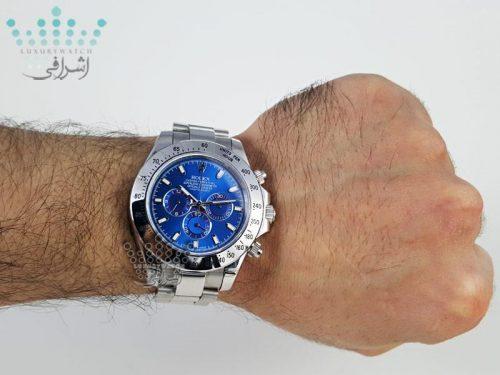 عکس روی مچ ساعت Rolex Daytona D18
