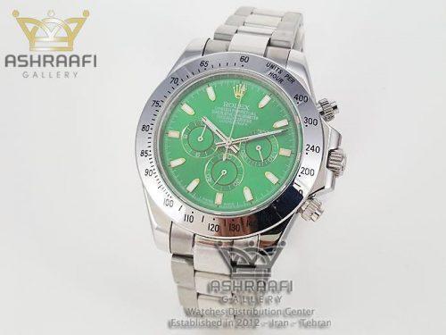 ساعت رولکس صفحه سبز Rolex Daytona D19