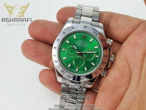 تصویر روی دست ساعت Rolex Daytona D19