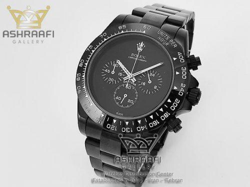 ساعت دیتونا تمام مشکی Rolex Daytona R306