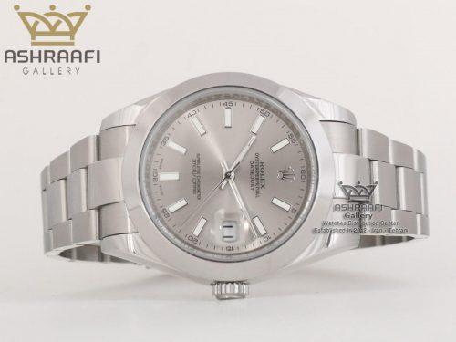ساعت صفحه خاکستری رولکس Rolex Oyster Perpetual G11