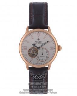 ساعت بند چرمی رولکس Rolex Oyster Perpetual L1