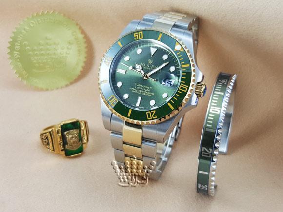 ساعت رولکس ساب مارینر با دست بند ست Rolex Submarriner-G