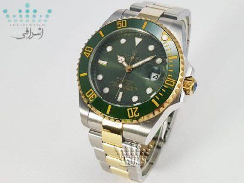 ساعت رولکس سبز مدل سابمارینر Rolex Submarriner-G