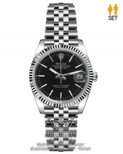 ساعت کلاسیک رولکس استیل Rolex datejust SB2