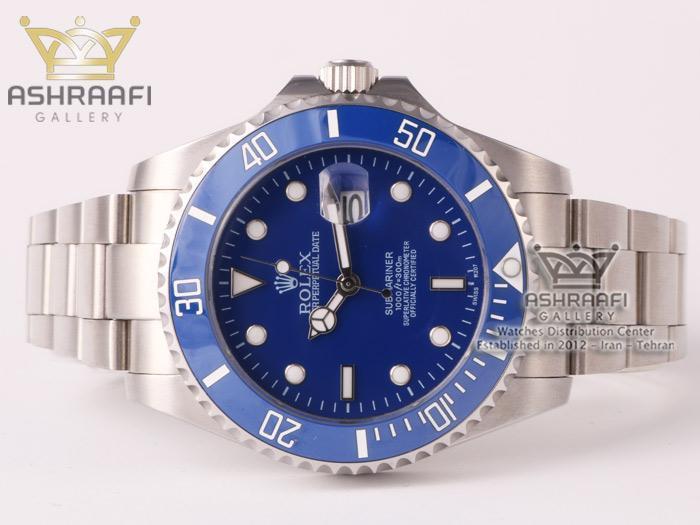 رولکس صفحه آبی ساب مارینر Rolex submariner bS1
