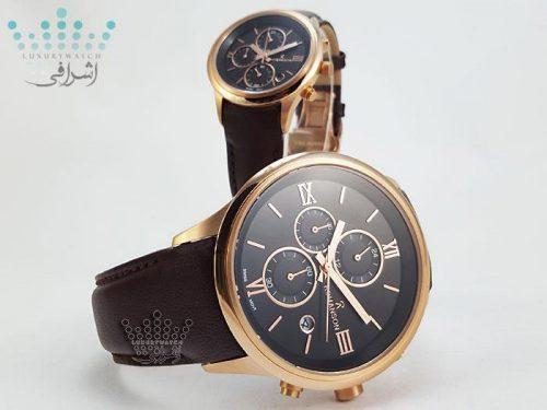 ساعت ست شکلاتی رنگ رومانسون Romanson 15107G