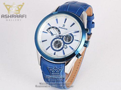 ساعت مردانه رومانسون آبی رنگ Romanson 212G