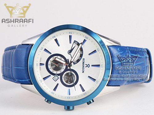ساعت رومانسون آبی Romanson 212G