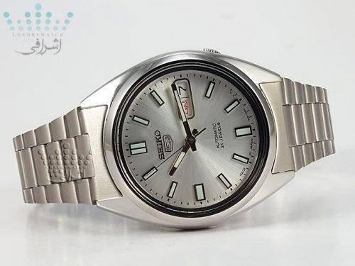 ساعت سیکو 5 مدل snxs73j1 - اتوماتیک 21 جواهر