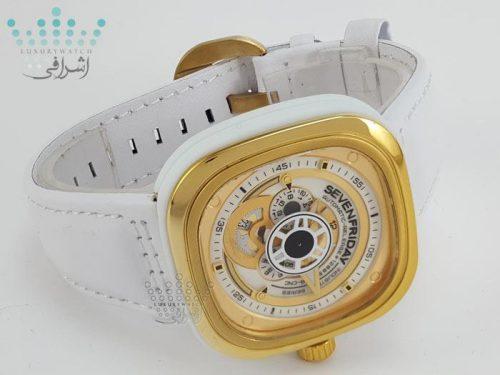 ساعت سفید سون فرایدی Sevenfriday P1B-01 زنانه
