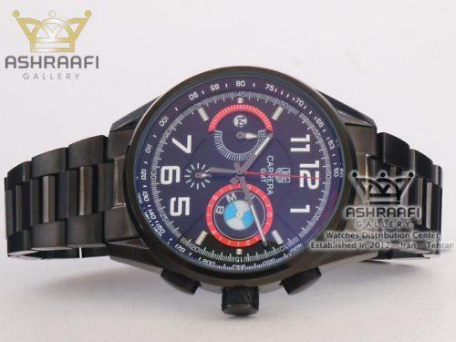 ساعت مشکی رنگ Tag Heuer BMW-BBS