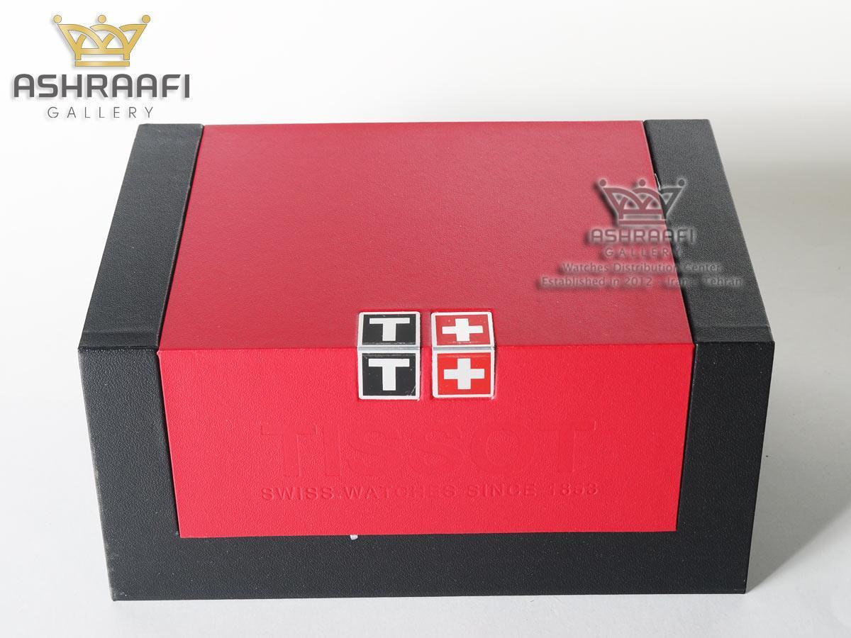 جعبه مشکی و قرمز تیسوت اورجینال