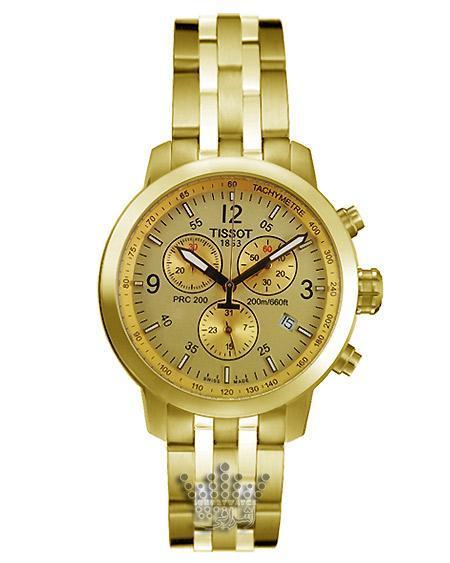 ساعت تمام طلایی تیسوت Tissot PRC200-t017G