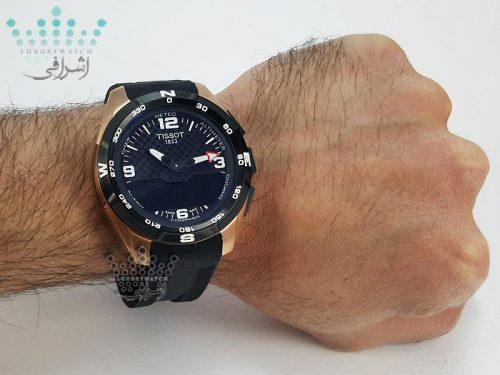 ساعت تیسوت تی تاچ روی دست T091420A