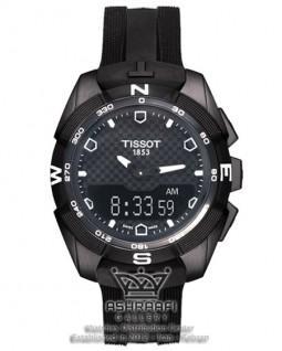 تیسوت تی تاچ تمام مشکی Tissot T-Touch T091420AB