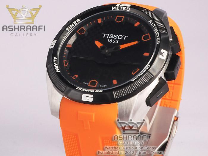 تیسوت نارنجی رنگ Tissot T-Touch T091420ODB