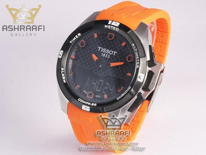 ساعت دیجیتال دار تیسوت Tissot T-Touch T091420ODB
