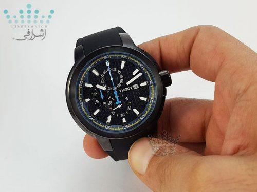 ساعت مردانه تمام مشکی Tissot T007236GK