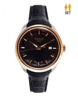 ساعت مچی ست زنانه و مردانه تیسوت تک موتوره Tissot T035627A