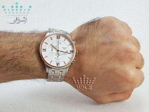 عکس روی مچ ساعت Tissot T099-16