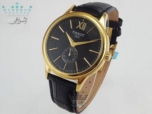 ساعت مشکی رنگ تیسوت های کپی Tissot T912428