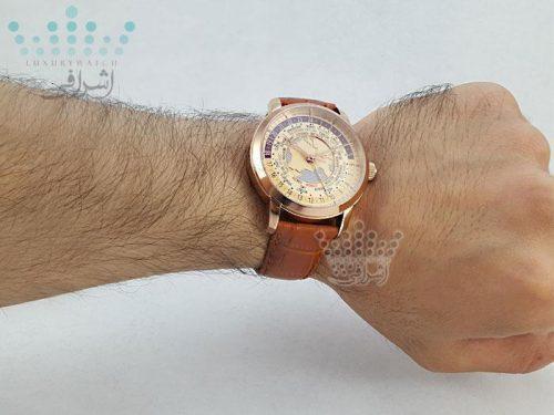 عکس روی دست ساعت جهان نمای واشرون کنستانتین 292