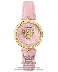 ساعت ورساچه زنانه صورتی رنگ Versace Palazzo VCO12