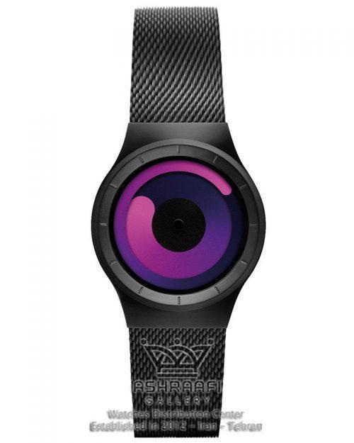 ساعت جیوه ای زیرو با رنگ مشکی Ziiiro Mercury 8M