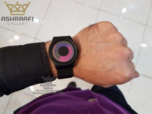 عکس روی دست ساعت زیرو جیوه ای Ziiiro Mercury 8M